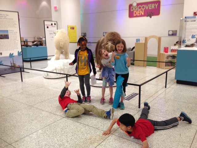 Second Grade Field Trip to the New Jersey State Museum