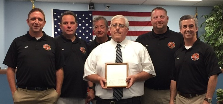 Retiring Administrator Sherwood Taylor Honored by Falls Township Supervisors