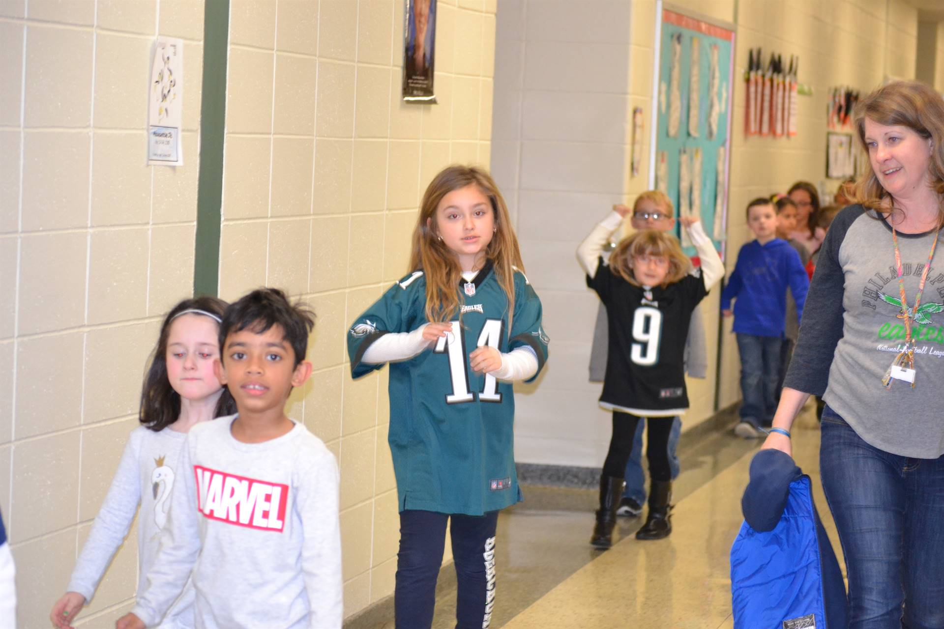 Eagles assembly and parade