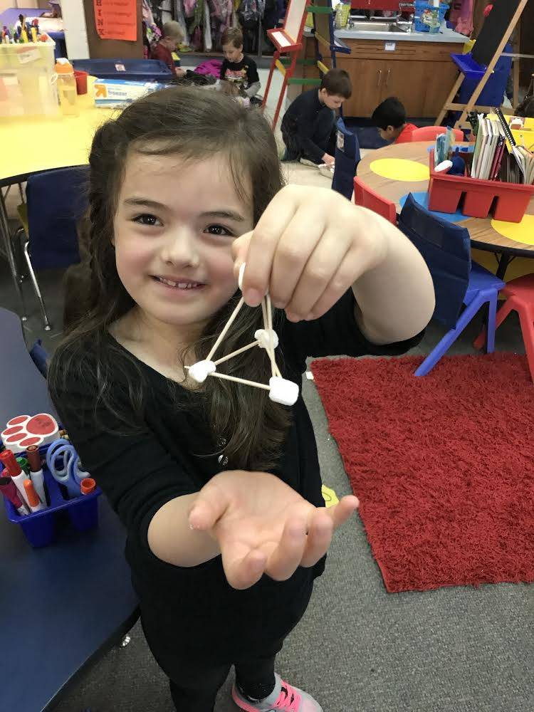 Kindergarten Stem/EM4 2d And 3D shape construction