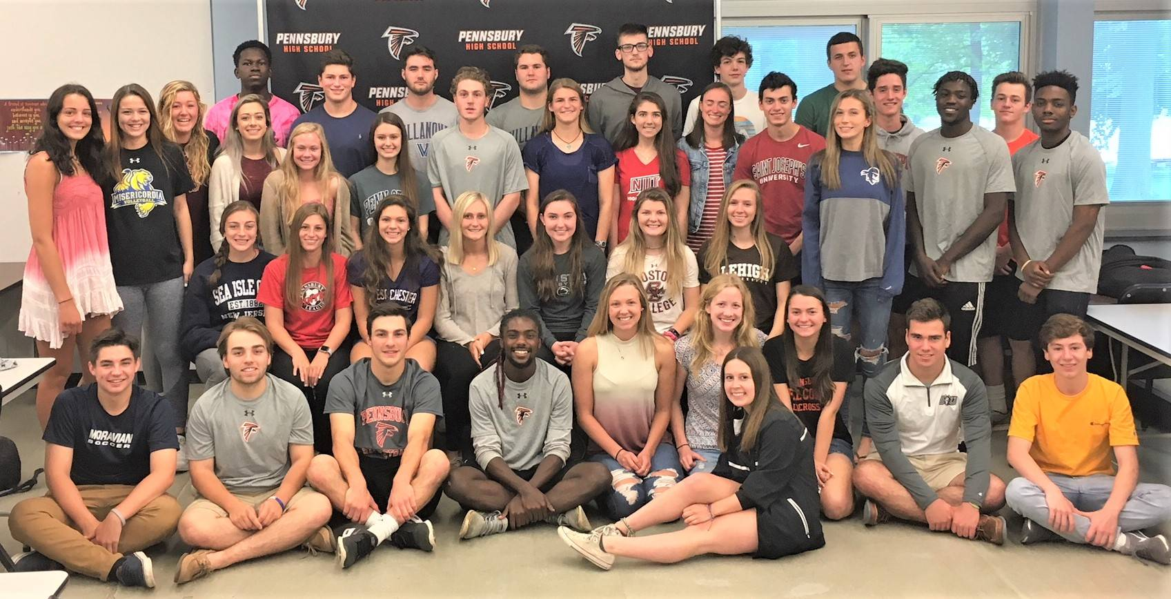 2018 Seniors Playing Collegiate Sports