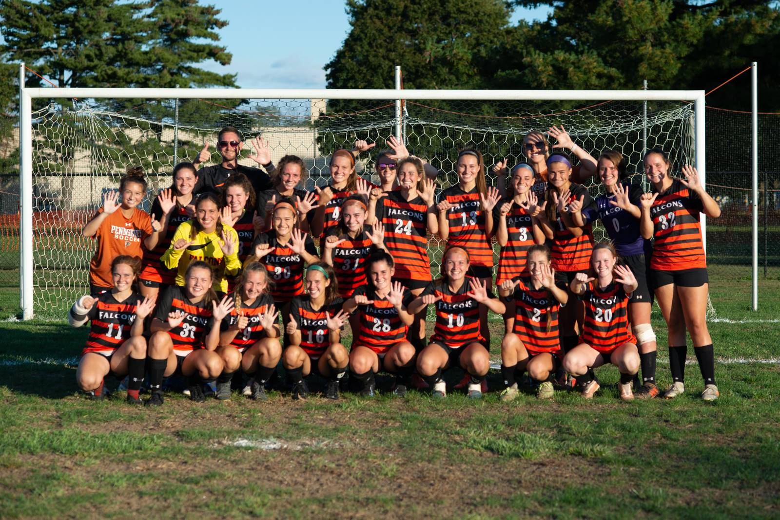 Girls soccer won their 6th consecutive Suburban One League title, finishing the season with an 11-1