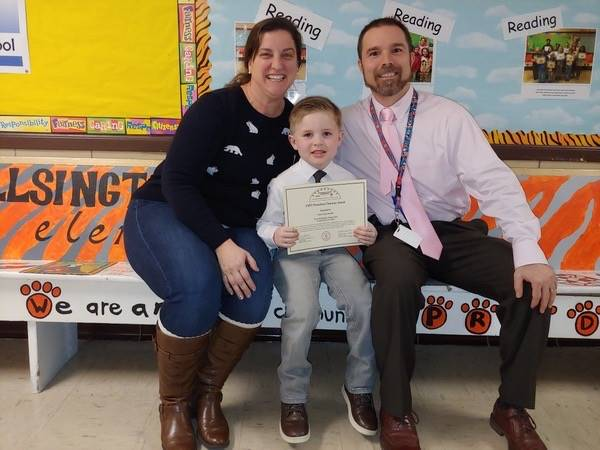 January LYFT Award - Character Trait - Caring/Service to Others